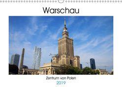 Warschau – Zentrum von Polen (Wandkalender 2019 DIN A3 quer) von Seidl,  Helene