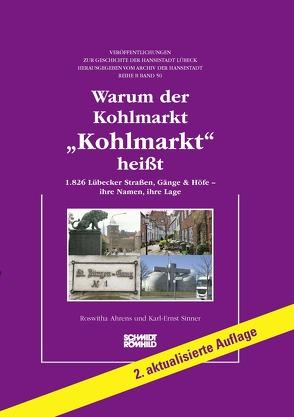 """Warum der Kohlmarkt """"Kohlmarkt"""" heißt von Ahrens,  Roswitha, Sinner,  Karl-Ernst"""