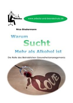 Warum Sucht mehr als Alkohol ist von Biedermann,  Nico