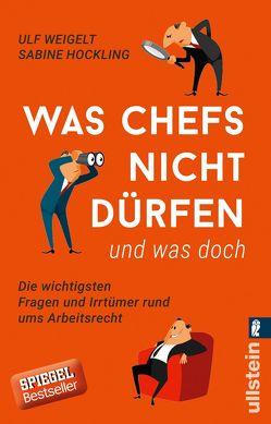 Was Chefs nicht dürfen (und was doch) von Hockling,  Sabine, Weigelt,  Ulf