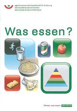 Was essen? von Hayer,  Angelika, Infanger,  Esther