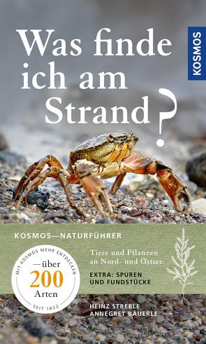 Was finde ich am Strand? von Bäuerle,  Annegret, Streble,  Heinz