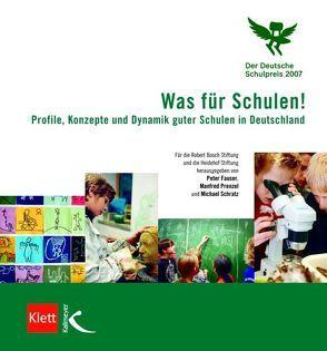 Was für Schulen! von Fauser,  Peter, Prenzel,  Manfred, Schratz,  Michael