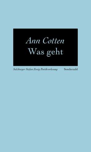 Was geht von Cotten,  Ann