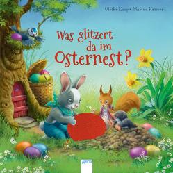 Was glitzert da im Osternest? von Kaup,  Ulrike, Krämer,  Marina