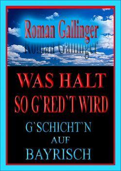 Was halt so g'red't wird von Gallinger,  Roman