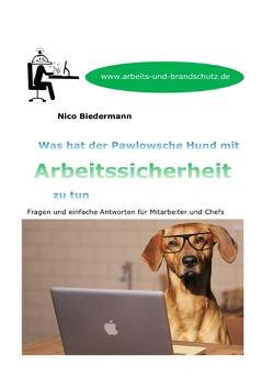 Was hat der Pawlowsche Hund mit Arbeitssicherheit zu tun von Biedermann,  Nico