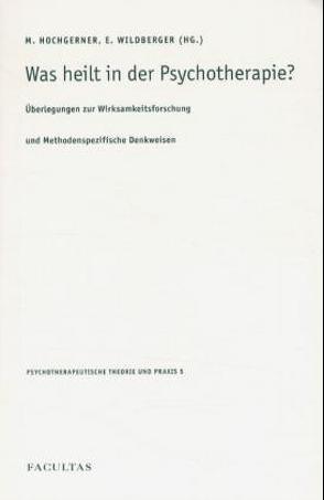 Was heilt in der Psychotherapie? von Hochgerner,  Markus, Wildberger,  Elisabeth