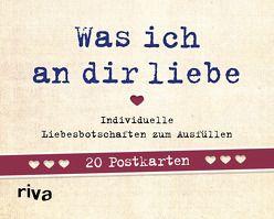 Was ich an dir liebe – 20 Postkarten von Reinwarth,  Alexandra
