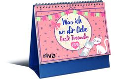 Was ich an dir liebe, beste Freundin – Mini-Monatskalender 2020 von Reinwarth,  Alexandra