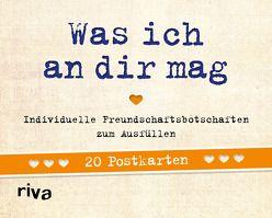 Was ich an dir mag – 20 Postkarten von Reinwarth,  Alexandra