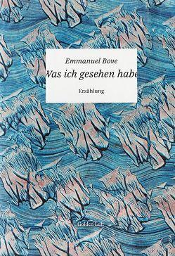 Was ich gesehen habe von Bove,  Emmanuel, Voß-Becher,  Helke, Weiss,  Katharina
