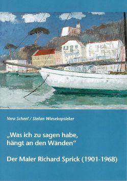 """""""Was ich zu sagen habe, hängt an den Wänden"""" von Scheef,  Vera, Wiesekopsieker,  Stefan"""