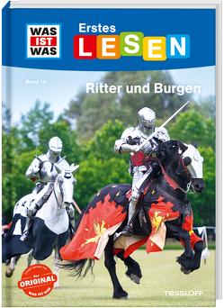 WAS IST WAS Erstes Lesen Band 19. Ritter und Burgen von Braun,  Christina, Stenzel,  Annelie