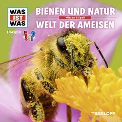WAS IST WAS Hörspiel. Bienen und Natur / Welt der Ameisen von Baur,  Dr. Manfred