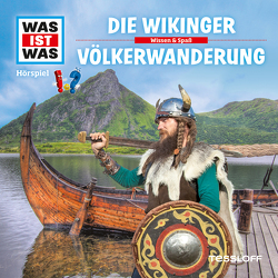 WAS IST WAS Hörspiel. Die Wikinger / Völkerwanderung. von Haderer,  Kurt, Krumbiegel,  Crock, Semar,  Kristiane