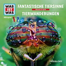 WAS IST WAS Hörspiel. Fantastische Tiersinne / Tierwanderungen. von Baur,  Dr. Manfred, Krumbiegel,  Crock, Semar,  Kristiane