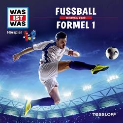 WAS IST WAS Hörspiel. Fußball / Formel 1 von Bauer,  Matthias, Carlsson,  Anna, Falk,  Matthias, Illi,  Günther, Krumbiegel,  Crock, Riedl,  Jakob, Semar,  Kristiane