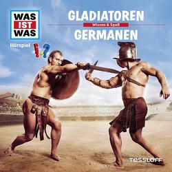 WAS IST WAS Hörspiel. Gladiatoren / Germanen. von Falk,  Matthias, Krumbiegel,  Crock