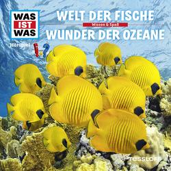 WAS IST WAS Hörspiel. Welt der Fische / Wunder der Ozeane. von Haderer,  Kurt, Krumbiegel,  Crock