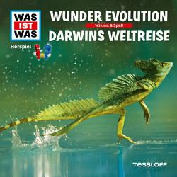 WAS IST WAS Hörspiel. Wunder Evolution / Darwins Weltreise von Baur,  Dr. Manfred, Carlsson,  Anna, Haßler,  Sebastian, Illi,  Günther, Krumbiegel,  Crock, Reinhard,  Matthias, Riedl,  Jakob, Semar,  Kristiane