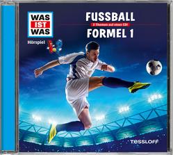 WAS IST WAS Hörspiel-CD: Fußball/ Formel 1 von Falk,  Matthias, Krumbiegel,  Crock, Semar,  Kristiane
