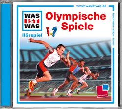 WAS IST WAS Hörspiel-CD: Olympische Spiele von Haderer,  Kurt, Illi,  Günther, Krumbiegel,  Crock, Semar,  Kristiane