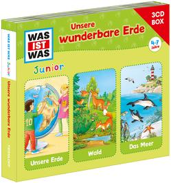 WAS IST WAS Junior 3-CD Hörspielbox. Unsere wunderbare Erde von Tessloff Verlag