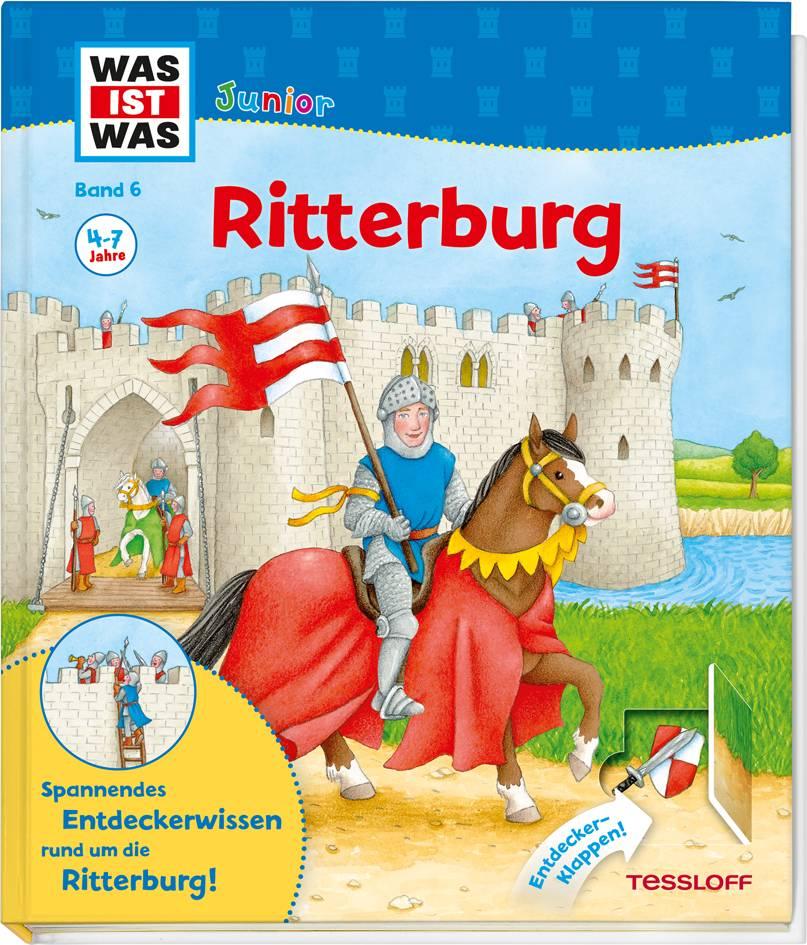WAS IST WAS Junior Band 6. Ritterburg Von Jelenkovich