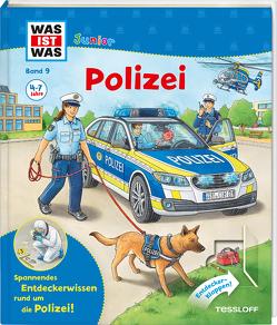 WAS IST WAS Junior Band 9. Polizei von Braun,  Christina, Humbach,  Markus, Tessloff Verlag