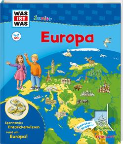 WAS IST WAS Junior Europa von Simon,  Ute, Tessloff Verlag, Weller-Essers,  Andrea