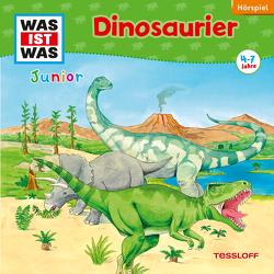 WAS IST WAS Junior Hörspiel. Dinosaurier von Habersack,  Charlotte, Lehmann-Horn,  Markus, Vohwinkel,  Astrid, Walther,  Maximilian, Wilhelmi,  Friederike