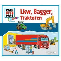 WAS IST WAS Junior Hörspiel. LKW, Bagger, Traktoren von Jeremies,  Christian und Fabian, Kaiser,  Claudia, Lehmann-Horn,  Markus, Lickleder,  Martin, Semar,  Kristiane