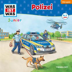 WAS IST WAS Junior Hörspiel. Polizei von Casaretto,  Frank, Habersack,  Charlotte, Humbach,  Markus, Lehmann-Horn,  Markus, Wilhelmi,  Friederike