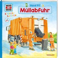 WAS IST WAS Kindergarten, Band 11 Müllabfuhr von Paule,  Irmgard, Stiefenhofer,  Martin