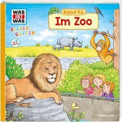 WAS IST WAS Kindergarten, Band 12 Im Zoo von Becker,  Stéffie, Weller-Essers,  Andrea