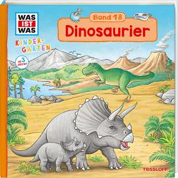 WAS IST WAS Kindergarten Band 18 Dinosaurier von Becker,  Stéffie, Schreuder,  Benjamin