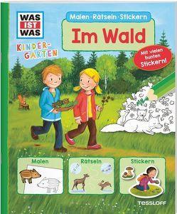 WAS IST WAS Kindergarten. Im Wald von Vogel,  Heike, Wenzel,  Ida