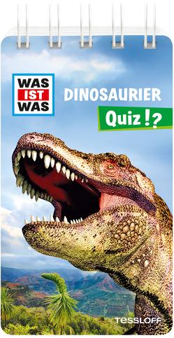 WAS IST WAS Quiz Dinosaurier von Klingner,  Inga, Tessloff Verlag