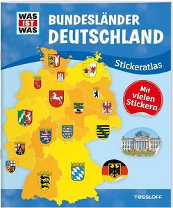 WAS IST WAS Sticker-Atlas Deutschland