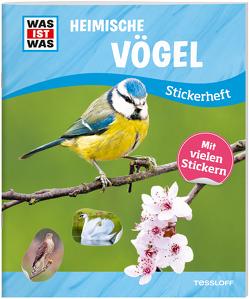 WAS IST WAS Stickerheft Heimische Vögel von Langbein,  Carolin