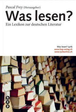 Was lesen? von Frey,  Pascal