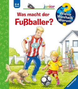 Was macht der Fußballer? von Nieländer,  Peter
