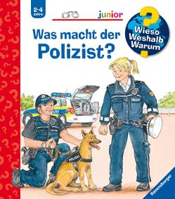 Was macht der Polizist? von Erne,  Andrea, Metzger,  Wolfgang