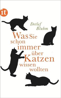 Was Sie schon immer über Katzen wissen wollten von Bluhm,  Detlef