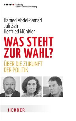 Was steht zur Wahl? von Abdel-Samad,  Hamed, Münkler,  Herfried, Panzer,  Volker, Zeh,  Juli