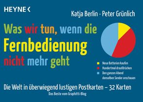 Was wir tun, wenn die Fernbedienung nicht mehr geht von Berlin,  Katja, Grünlich,  Peter