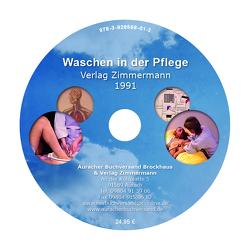 Waschen in der Pflege von Inhester,  Otto, Zimmermann,  Ingrid