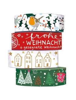 Washi Tapes Weihnachtsgrüße von Stahl,  Anna-Katharina