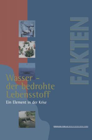 Wasser — der bedrohte Lebensstoff von Beste,  Dieter, Kälke,  Marion